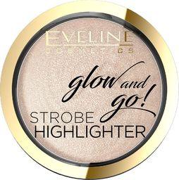 Eveline Eveline Glow & Go Rozświetlacz wypiekany nr 01 Champagne  8.5g