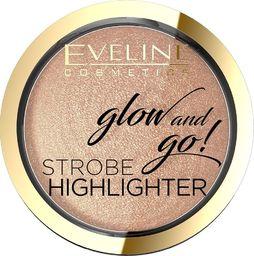 Eveline Eveline Glow & Go Rozświetlacz wypiekany nr 02 Gentle Gold  8.5g