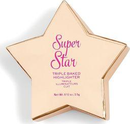 Makeup Revolution I Heart Revolution Star of the Show Rozświetlacz Super Star 3.5g