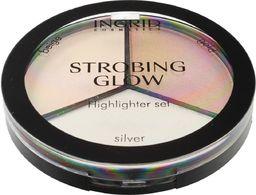 INGRID Ingrid Strobing Glow Paleta pudrowych rozświetlaczy do twarzy  15g