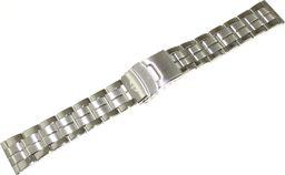 Bisset Bransoleta stalowa do zegarka 20 mm Bisset BR20.02 Silver uniwersalny