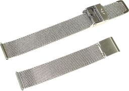 Bisset Bransoleta stalowa do zegarka 14 mm Bisset MESH14.08 Silver uniwersalny