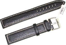 JVD Skórzany pasek do zegarka 18 mm JVD R22601-18 uniwersalny