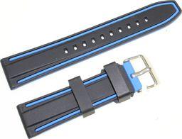JVD Silikonowy pasek do zegarka 22 mm JVD R21909-22 uniwersalny