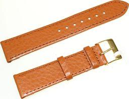 JVD Skórzany pasek do zegarka 20 mm JVD R15703-20-G uniwersalny