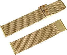 Timex Bransoleta stalowa do zegarka Timex TW2R27200 20 mm Mesh Gold uniwersalny