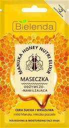 Bielenda Maseczka do twarzy Manuka Honey Nutri Elixir odżywczo-nawilżająca 8g