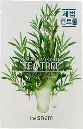 SAEM Maseczka do twarzy Natural Mask Shee Tea Tree odświeżająca 21ml