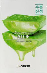 SAEM Maseczka do twarzy Natural Mask Sheet Aloe nawilżająca 21ml
