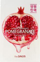 SAEM Maseczka do twarzy Natural Mask Sheet Pomegranate odmładzająca 21ml