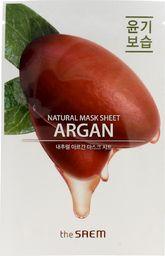 SAEM Maseczka do twarzy Natural Mask Sheet Maska Argan regenerująca 21ml