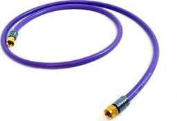 Kabel Melodika Antenowe 1m fioletowy