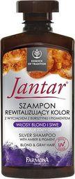 Farmona Jantar Szampon rewitalizujący kolor - włosy blond i siwe 330ml
