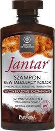 Farmona Jantar Szampon rewitalizujący kolor - włosy brązowe i kasztanowe 330ml