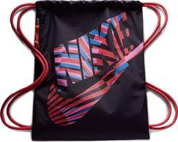 Nike Worek Plecak Nike Heritage Gymsack GFX 1 BA6010 010 BA6010 010 czarny