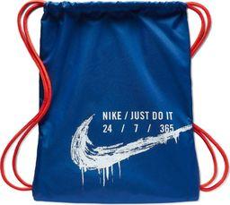 Nike Worek Plecak Nike Y NK Gymsack GFX 2 BA6008 438 BA6008 438 niebieski