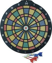 Tarcza dart plastikowa 35 cm + 6 rzutek EB000837/BT26904