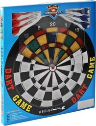 Tarcza dart plastikowa 40 cm + 6 rzutek BT26903/EBO01316