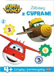 Super Wings. Zabawy z Cyframi 4+
