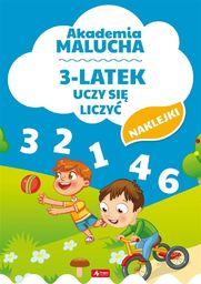 Akademia malucha. 3-latek uczy się liczyć