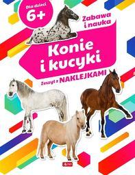 Konie i kucyki. Zeszyt z naklejkami