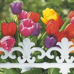 GOMAR Serwetki Lunch 33x33 Royal Tulips
