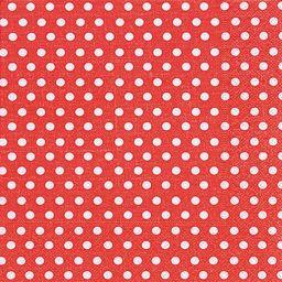 GOMAR Serwetki Lunch 33x33 Just dots red
