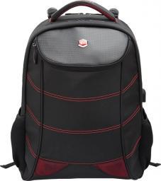 """Plecak BESTLIFE PLECAK NA 17"""" NOTEBOOK SNAKE EYE GAMING USB CZERWONY BB-3332R"""