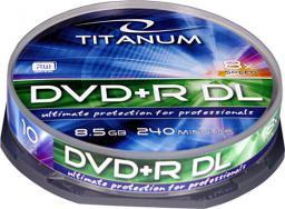 Titanum DVD+R 8.5GB 8x DL Cake 10szt. (1249)