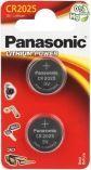 Panasonic Bateria Lithium Power CR2025 165mAh 2szt.
