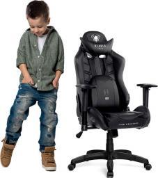 Fotel Diablo Chairs X-RAY KIDS czarny