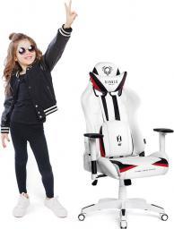 Fotel Diablo Chairs X-RAY KIDS biały