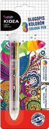 Derform Długopis 8 kolorów KIDEA
