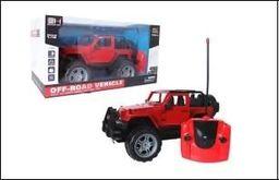 Askato Jeep RC czerwony