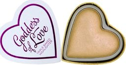 Makeup Revolution I Heart Rozświetlacz Golden Goddess 10 g