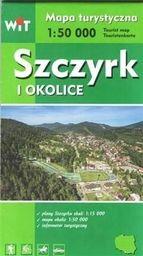 Mapa turystyczna - Szczyrk i okolice WIT