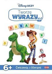Disney uczy. Toy Story 4. Tworzę wyrazy 6+