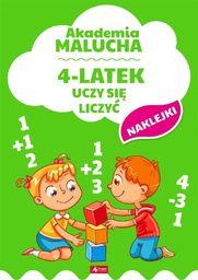 Akademia malucha. 4-latek uczy się liczyć