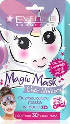 Eveline Maseczka do twarzy Magic Mask Cute Unicorn oczyszczająca