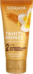 Soraya Soraya Tahiti Bronze 2 Step Samoopalacz do twarzy,szyi i dekoltu  50ml