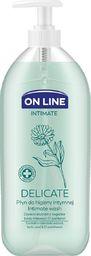 FORTE SWEEDEN On Line Intimate Płyn do higieny intymnej Delicate z nagietkiem  500ml