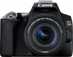 Lustrzanka Canon EOS 250D + 18-55 IS STM