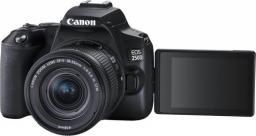 Lustrzanka Canon EOS 250D + 18-55 IS STM + 50 f/1.8 IS STM