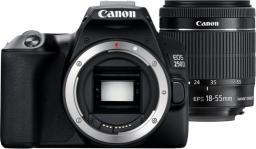 Lustrzanka Canon EOS 250D + 18-55 + 75-300