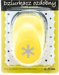 Dziurkacz Akson Dziurkacz ozdobny 2,5 cm Śnieżynka uniw