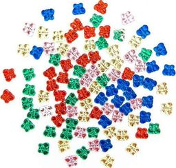 Akson Kryształki dekoracyjne MOTYLKI 100 szt uniw