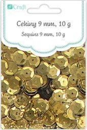 Akson Cekiny okrągłe 10 g złote uniw