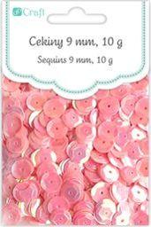 Akson Cekiny okrągłe 10 g różowe uniw