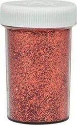 Akson Brokat sypki dekoracyjny 10 gram z dziurkami - miedziany uniw
