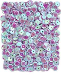 Akson Cekiny okrągłe opalizujące 15 g fioletowe uniw
